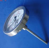 不锈钢耐震双金属温度计